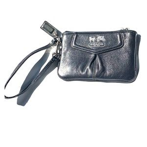 Coach Wristlet (Dark Grey)